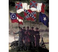 Flags of the Confederacy Chart or Kit