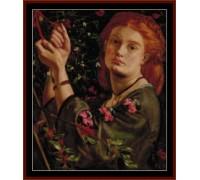 Hanging Mistletoe - Chart or Kit