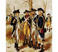 Infantry, Continental Army - Chart or Kit
