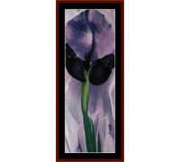 Iris by O'Keeffe - Chart or Kit
