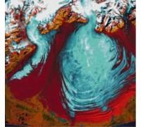 Malaspina Glacier, Alaska - Chart or Kit