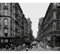 New York Street Scene 1919 - Chart or Kit