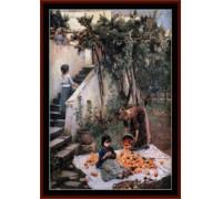 Orange Gatherers - Chart or Kit