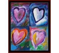 Quad Hearts - Chart or Kit