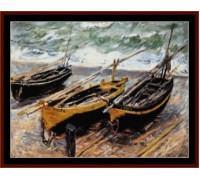 Three Fishing Boats - Chart or Kit