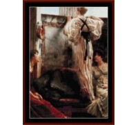 Who Is It by Alma-Tadema - chart or kit