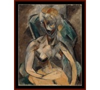 Young Woman by Picasso - Chart or Kit