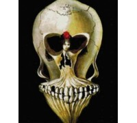 Ballerina in Death's Head Chart or Kit