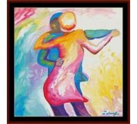 Dancing Couple - Chart or Kit