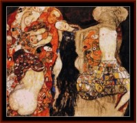 The Bride by Klimt - Chart or Kit