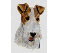 Wire Fox Terrier Chart or Kit