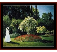 Woman in Garden Chart or Kit