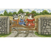 Hanging Out Cross Stitch Kit