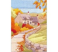Autumn Cottage Long Stitch Kit - MLS11