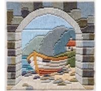 Boat Thro' Archway Silken Long Stitch - SLS3