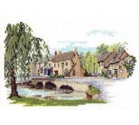 Bourton on the Water Cross Stitch - 14DD226 - 14ct