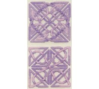 Celtic Coasters - Amethyst - COA8 - 16ct