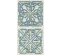 Celtic Coasters - Aquamarine - COA9 - 16ct