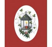 Christmas Lantern Greeting Card Kit - CDX25
