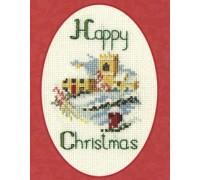 Christmas Village Card Kit - CDX10