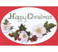 Christmas Roses Card Kit - CDX02