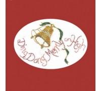 Ding Dong Merrily Christmas Card Kit - CDX28