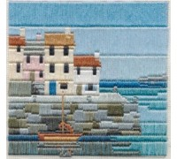 Fishermen's Cottages Silken Long Stitch - SLS4