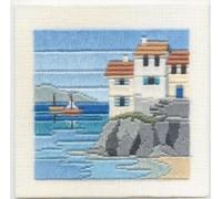 Headland Cottages Silken Long Stitch - SLS1