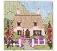 Hollyhock Cottage Silken Long Stitch - SLS7