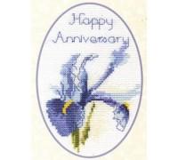 Iris Anniversary Card Kit - CDG02