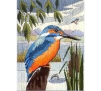 Kingfisher Long Stitch by Sue Dakin - SD17