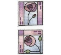 Mackintosh Coasters 3 (set of 2) - COA6