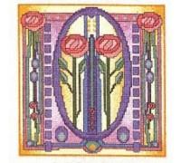 Mackintosh Rose Tile - MKT