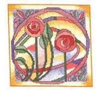 Mackintosh Rose Window - MKW