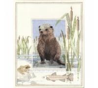 Otter by Derwentwater - WIL6