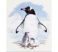 Penguin and Chicks - PN01 - 14ct