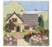 Rambling Rose Cottage Silken Long Stitch - SLS8