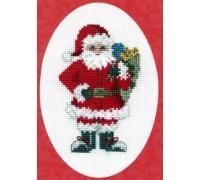Santa's Sack Christmas Card Kit - CDX33