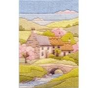 Spring Cottage Long Stitch Kit - MLS9