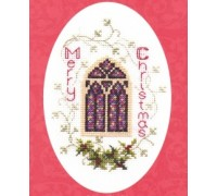 Stained Glass Window Christmas Card Kit - CDX29