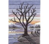 Winter Evening Long Stitch - MLS16
