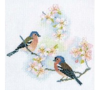 Chaffinches and Blossoms - BB02