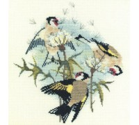 Goldfinches and Thistles - BB04