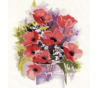 Watercolour Poppies - WCP