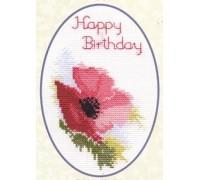Poppy Birthday Card Kit - CDG01