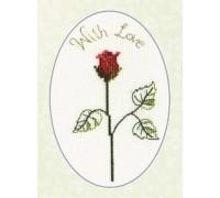 Red Rose Card Kit - CDG05