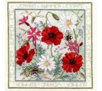 Summer Floral Panel - FS02