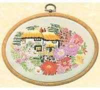 Aster Cottage Embroidery - E182
