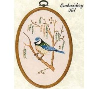 Bluetit Embroidery Kit - E190