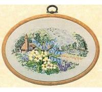 Primrose Cottage Embroidery - E180